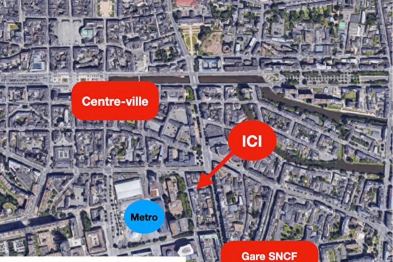 Image  Saint Hélier / Gare 3 pièce(s) RENNES (35)